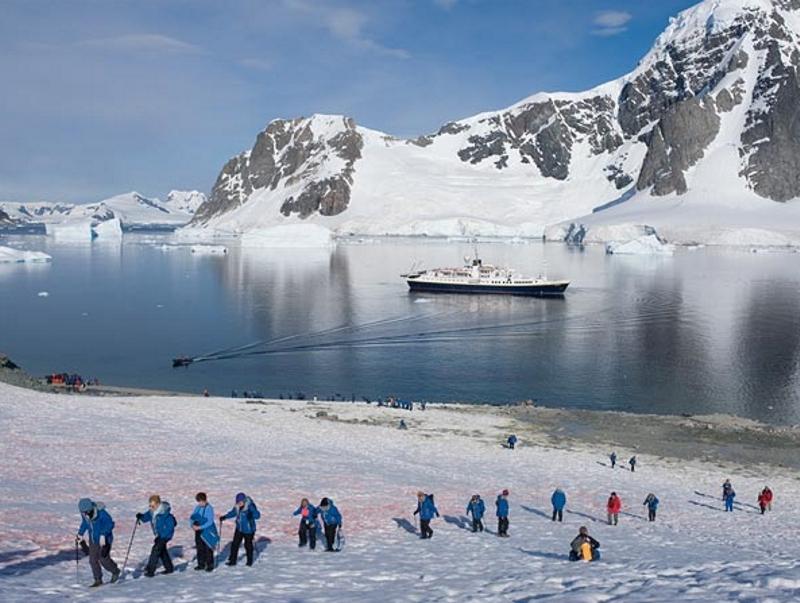 Антарктика - туризм