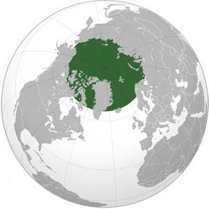 Арктика - мапа