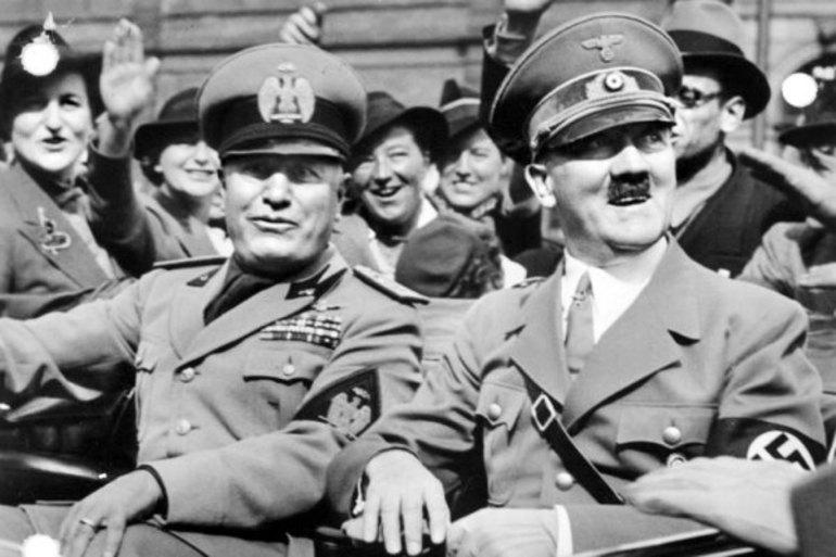 Беніто і Гітлер