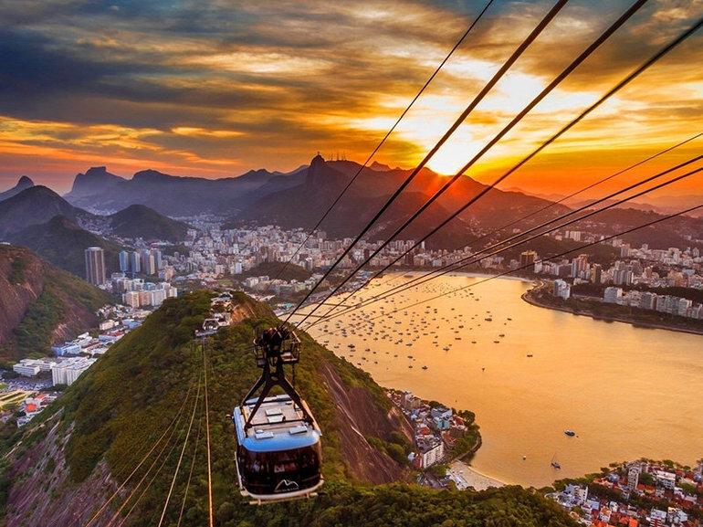Бразилія - цікаві місця