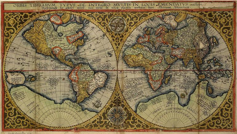 Древні карти