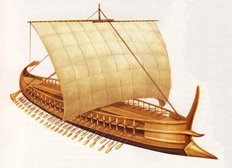 Фінікійське торгове судно