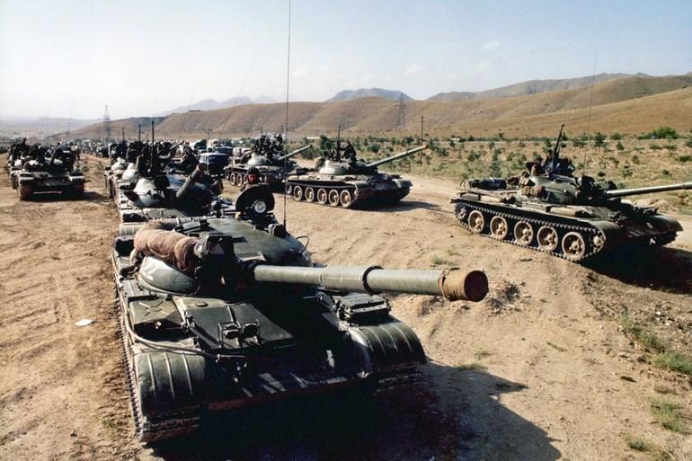 Хронологія війни в Афгані