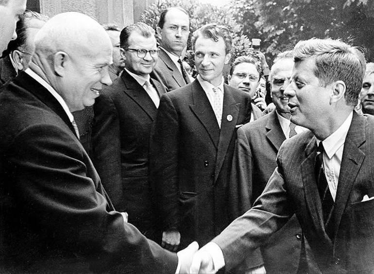 Хрущов і Кеннеді