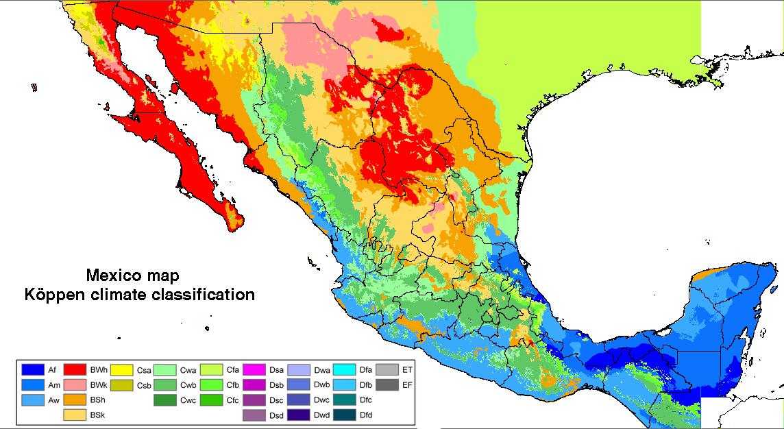 Клімат Мексики