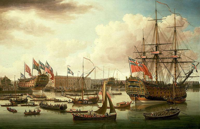 Кораблі Англії