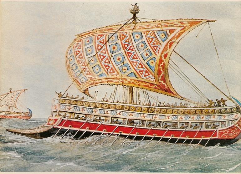 Кораблі фінікійців