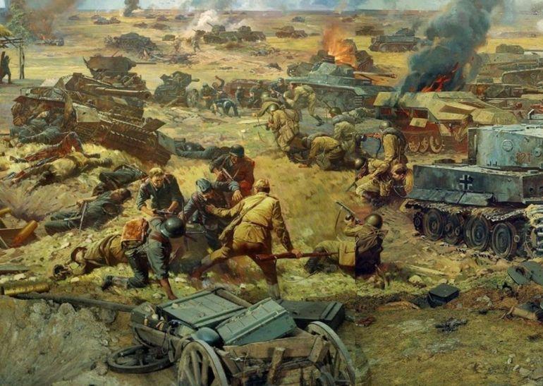 Курська битва - картина