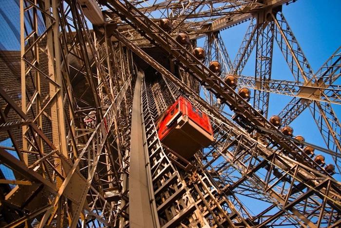Ліфт на Ейфелеву вежу