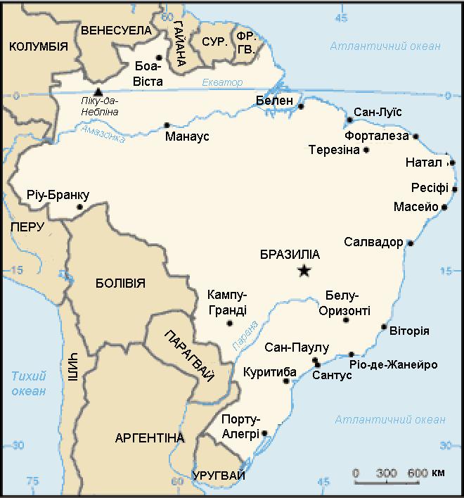 Мапа Бразилії