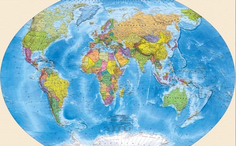 Мапа Землі