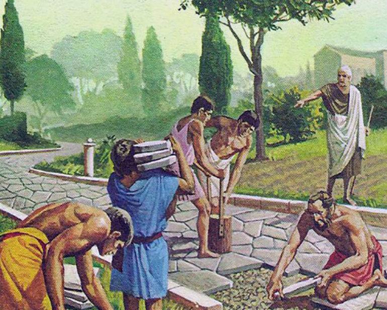 Особливості рабовласництва