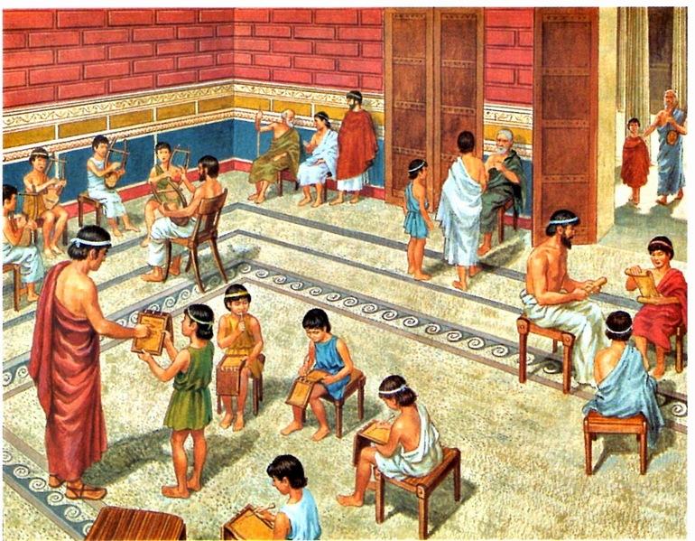 Освіта спартанців
