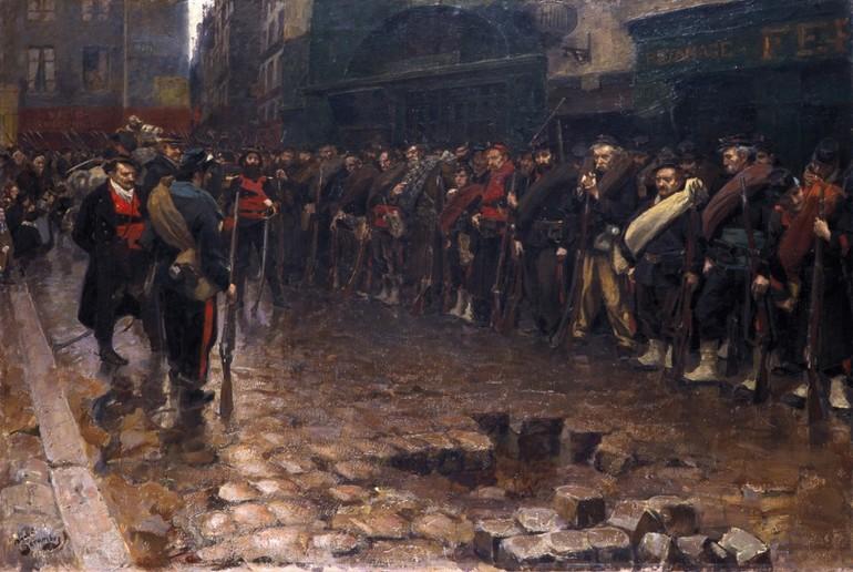 Повстання паризької комуни