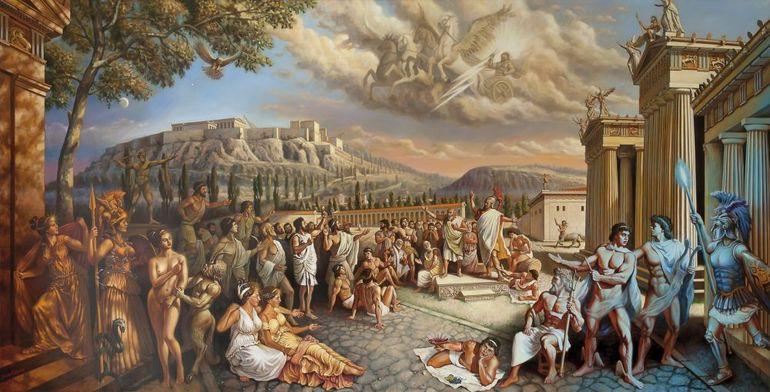 Пелопоннеська війна - картина