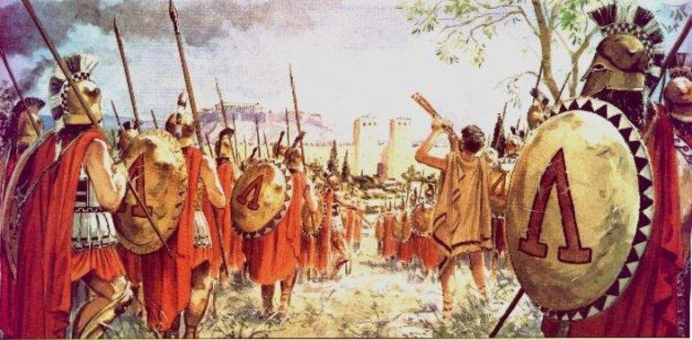 Пелопоннеська війна - картина2