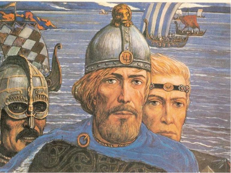 Перші руські князі