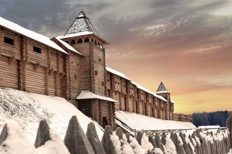 Перші замки робили з дерева