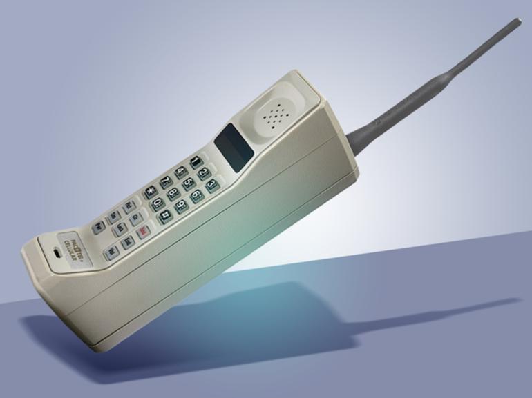 Перший мобільний апарат