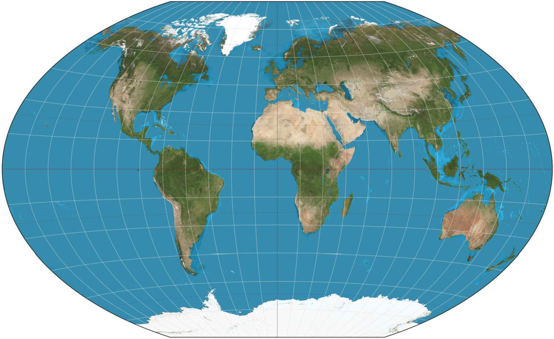 Повна мапа Землі