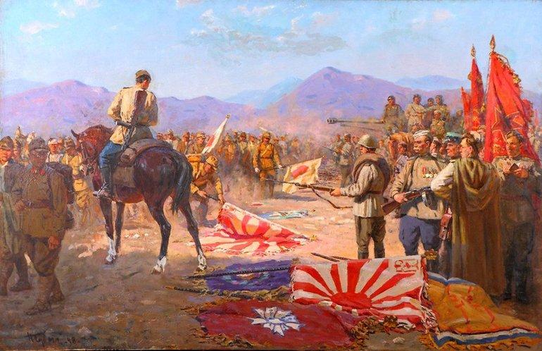 Радянсько-Японська війна - картина