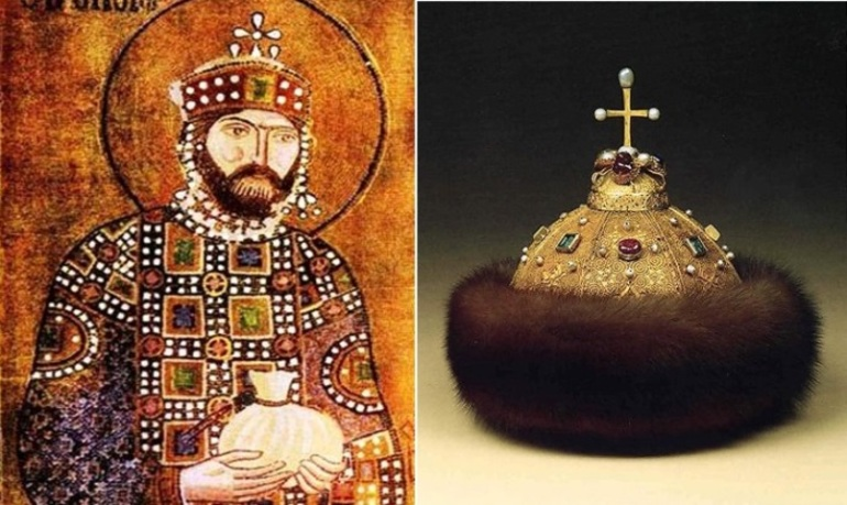 Шапка Мономаха і імператор Костянтин