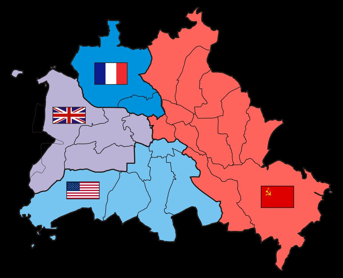 Сфери впливу на Берлін післі Другої Світової війни