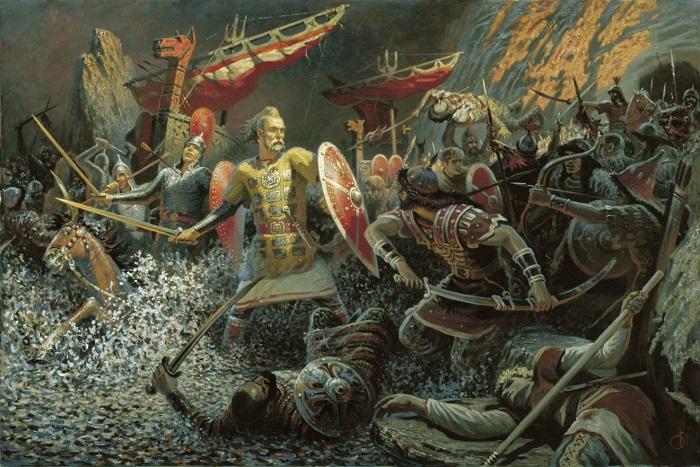 Східні слов'яни воїни