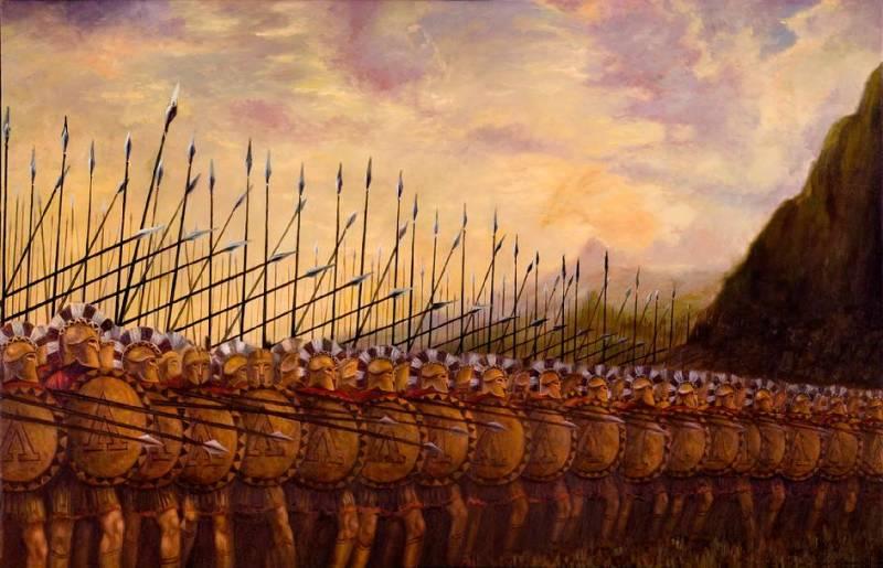 Спартанські ряди