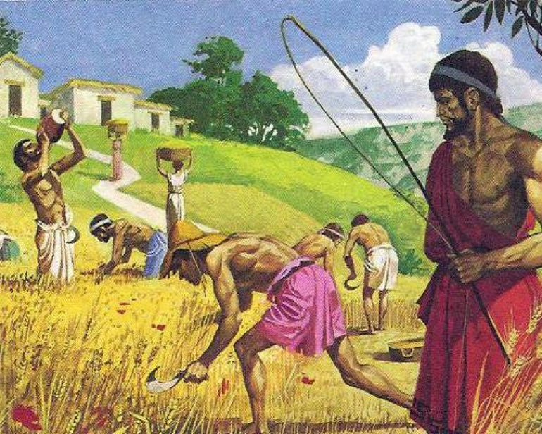 Спартанські селяни