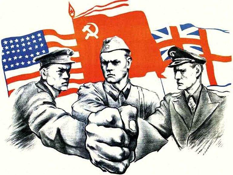 Співпраця СРСР США і Великобританії