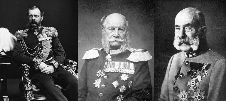 Створення Слюзу трьох імператорів