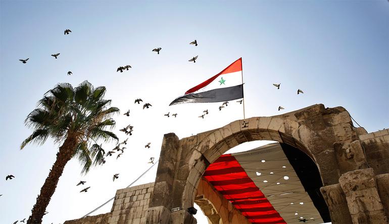Сирійський прапор