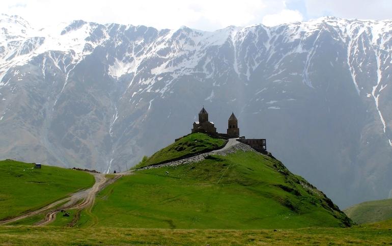 Територія Кавказьких гір