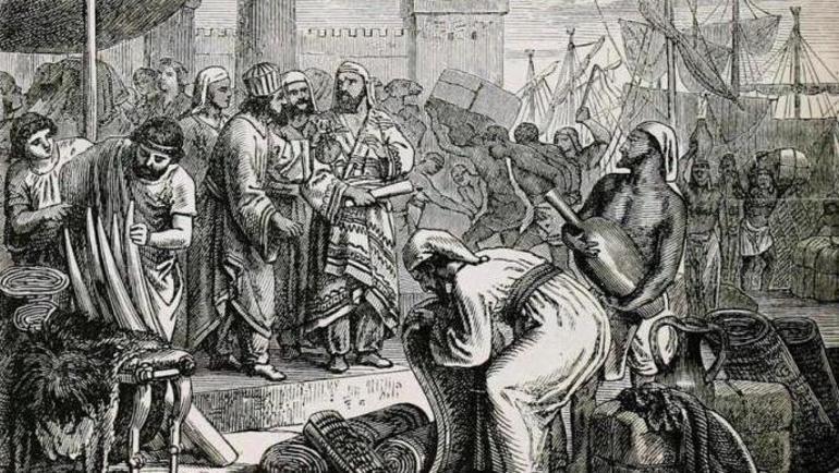 Торгівля фінікійців