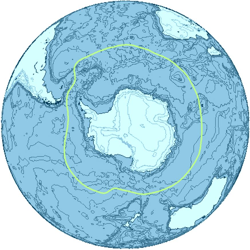 Умовні межі Антарктики