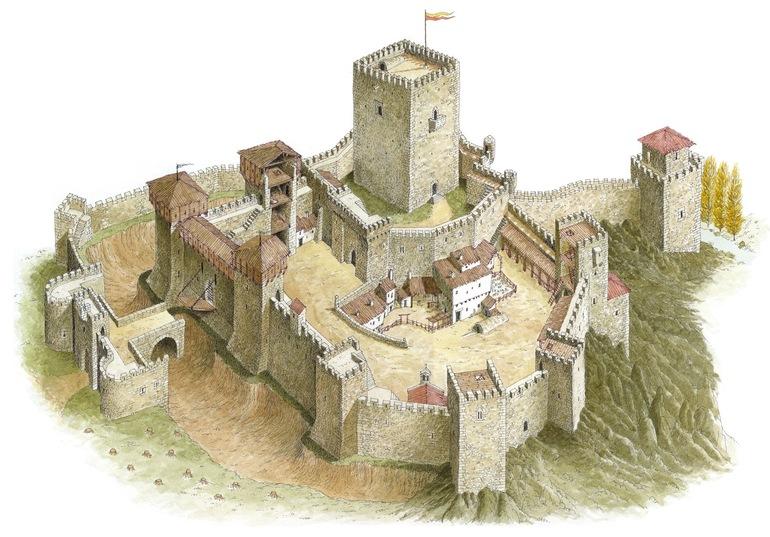 Устрій середньовічного замку