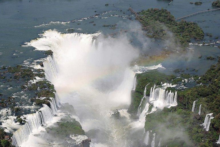Водоспади Бразилії
