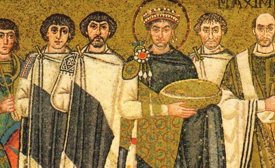 Юстиніан - фреска
