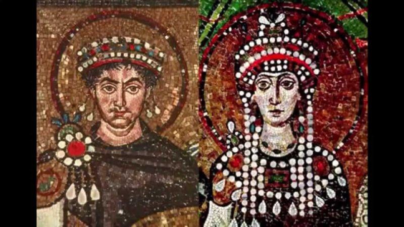 Юстиніан і Федора