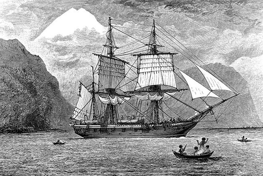 Бігль - корабель Дарвіна