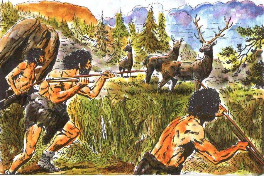 Полювання древніх людей