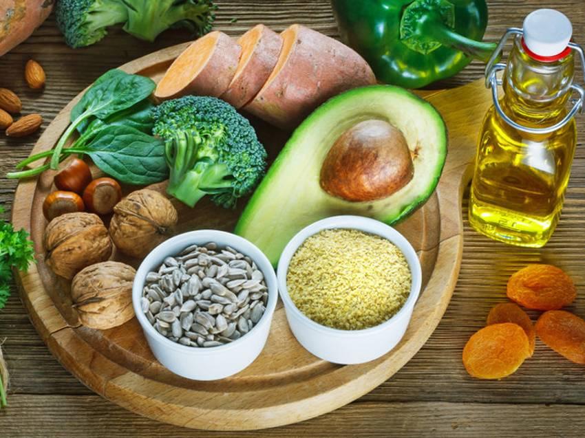 Продукти харчування які містять вітамін Е