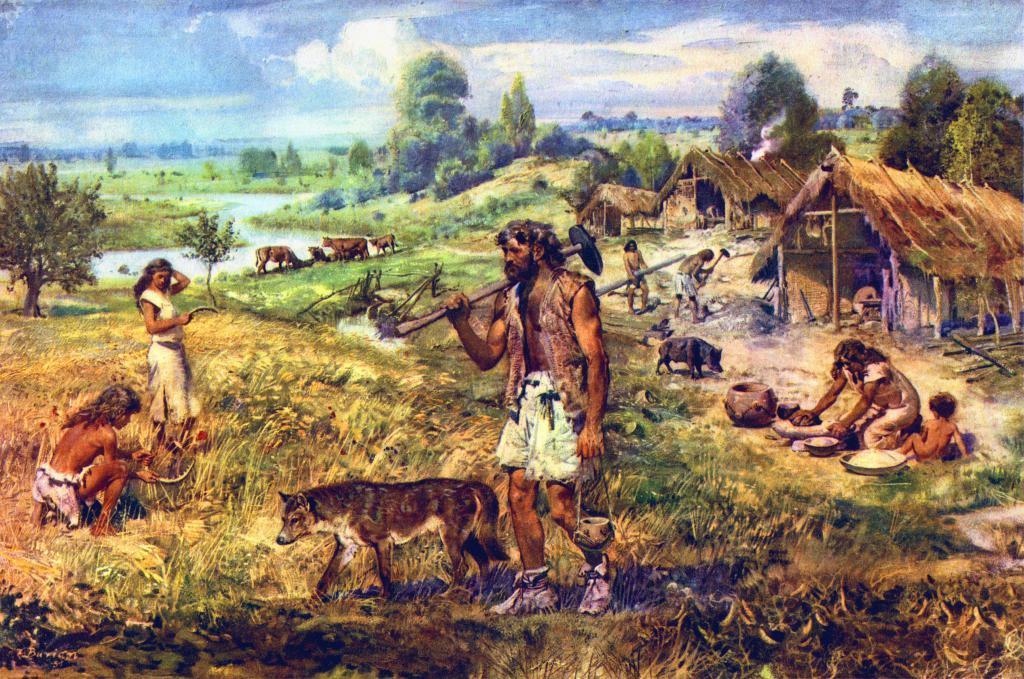 Суспільство древніх людей