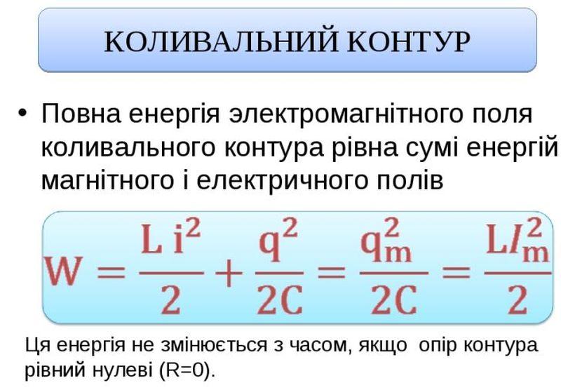 Коливальний контур - опис4
