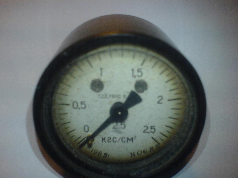 Манометр низького тиску (СРСР)