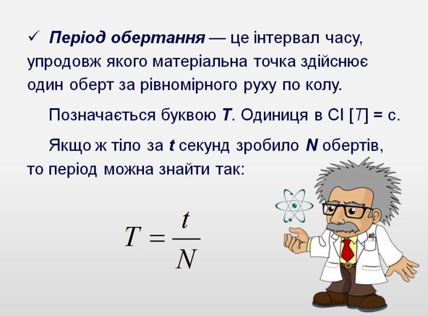 Період обертання - визначення
