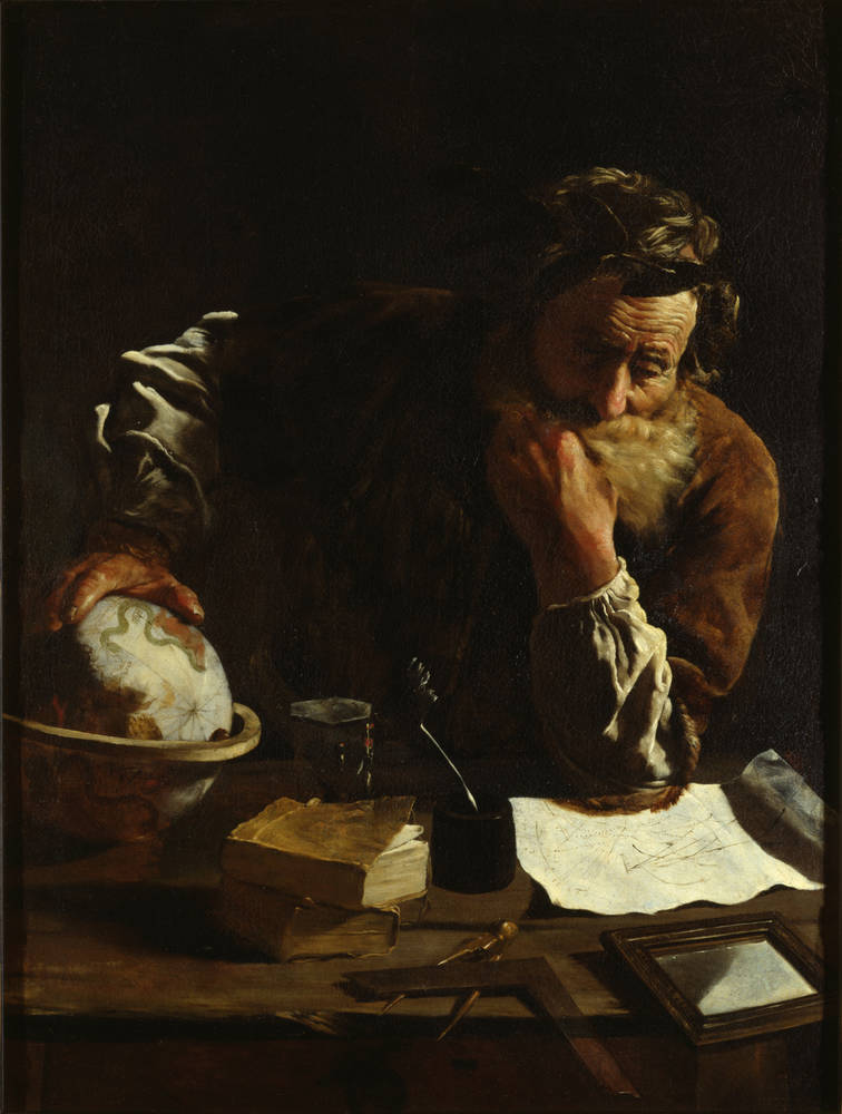 «Замислений Архімед» Доменіко Фетті