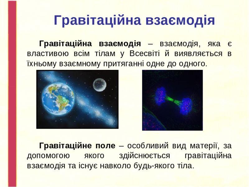 Гравітаційна взаємодія