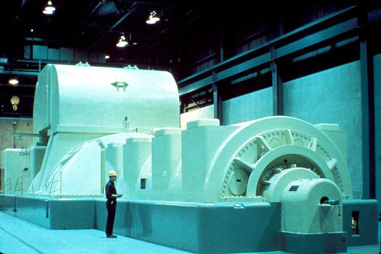 Сучасний монтаж парової турбіни генератора